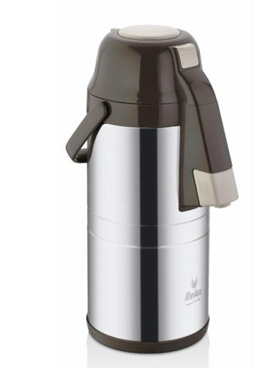 Remetta Caldo Delux 2.5 Litre Çelik Termos - Kahve Kahve